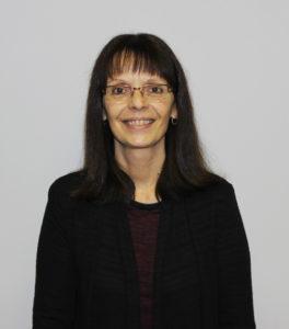 Martine Major, réceptionniste